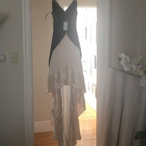 High Low Narciso Rodriguez Gown sz 40